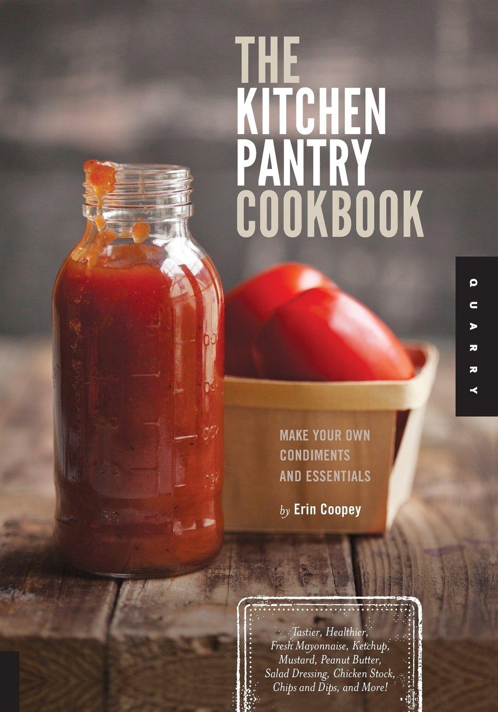 Kitchen Pantry Cookbook Condiments Essentials