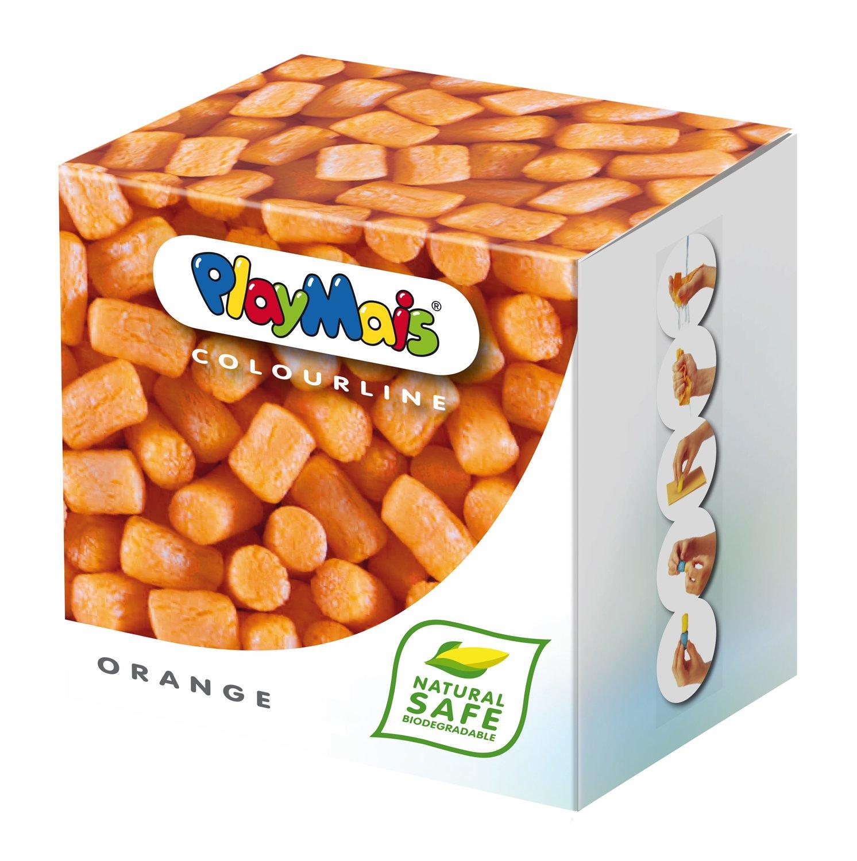 Loick Biowertstoff PlayMais Caja de unidades de material para modelar color naranja