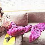 Amazon Price History for:Feiuruhf Knitted Mermaid Tail Blanket for Adults Teens, Kids Crochet Snuggle Mermaid, All Seasons Sleeping Blanket (Pink)
