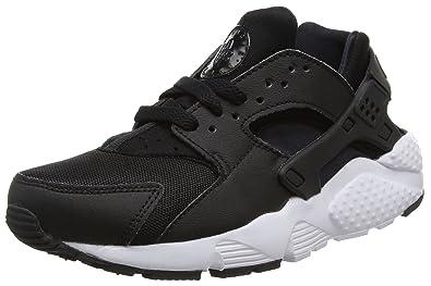 first rate ba92b 1ef96 Nike Jungen Huarache Run (Gs) Laufschuhe, Schwarz (Black/White 011)