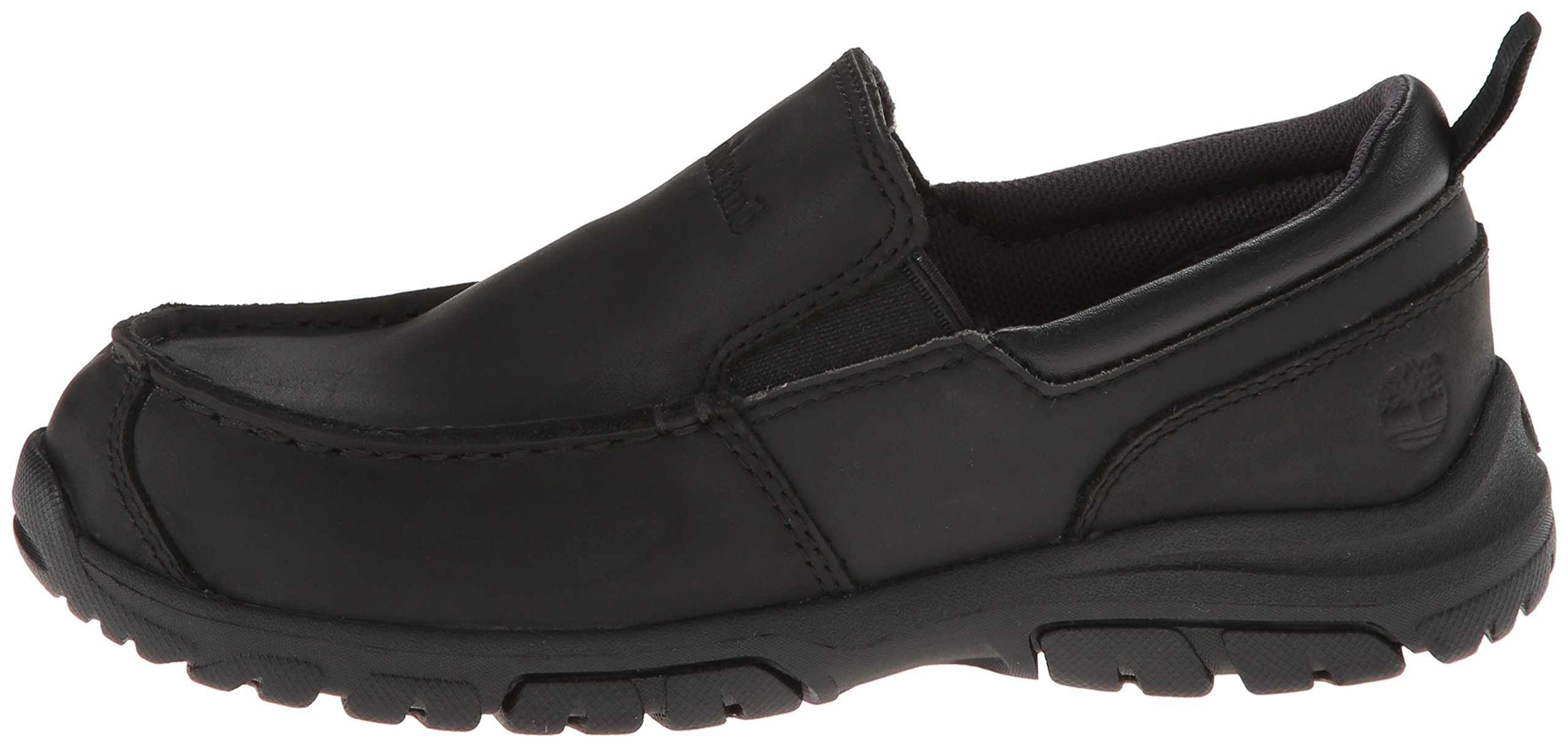Timberland Discovery Pass Moc Toe Moc Toe Slip-On (Toddler/Little Kid/Big Kid),Black,9.5 M US Toddler by Timberland (Image #5)