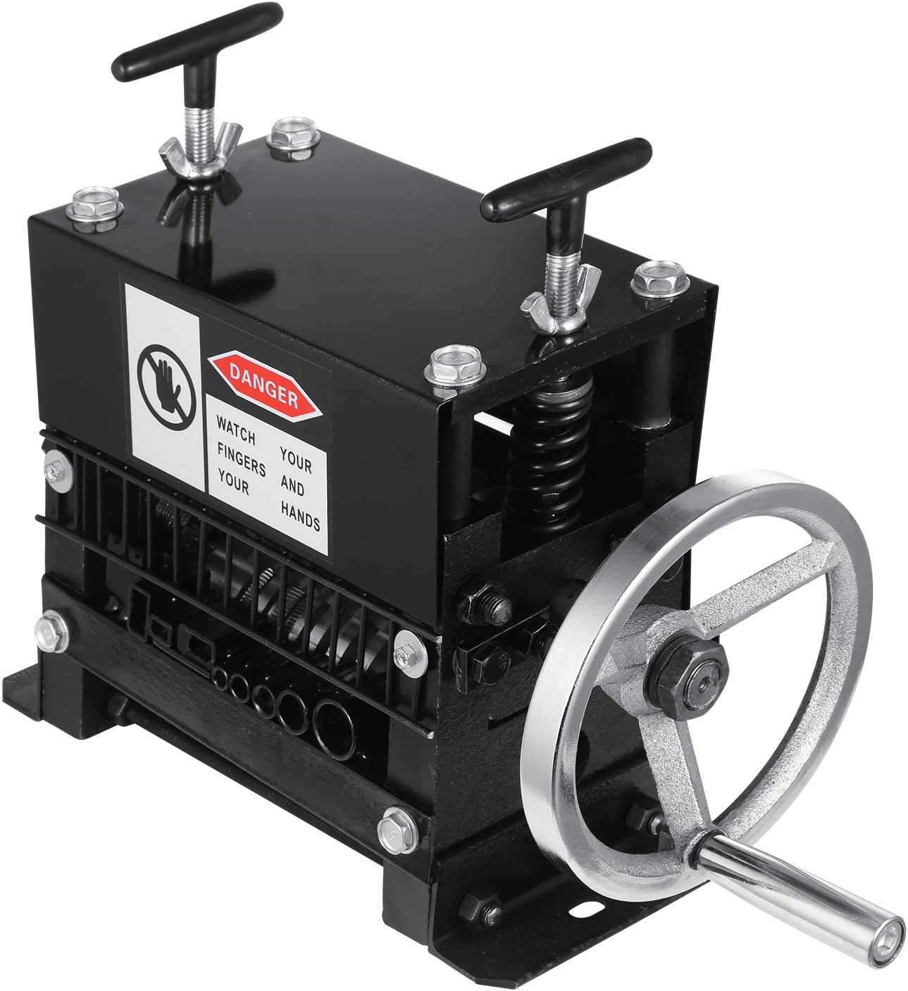 Moracle Pelacable Peladora de cables 220V 1.5-20 mm Cable de Alambre para Desmontar Máquina Y-001-1