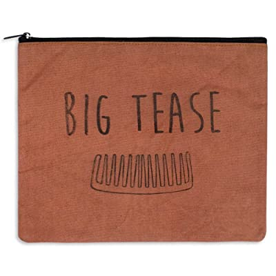 """Big Tease"" Canvas Toiletry Bag"