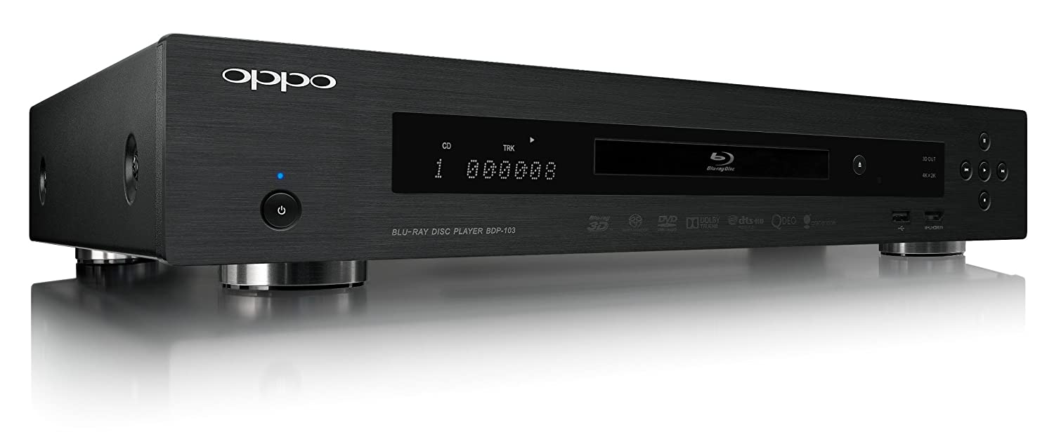 OPPO BDP-103 Blu-ray Disc Player Drivers PC