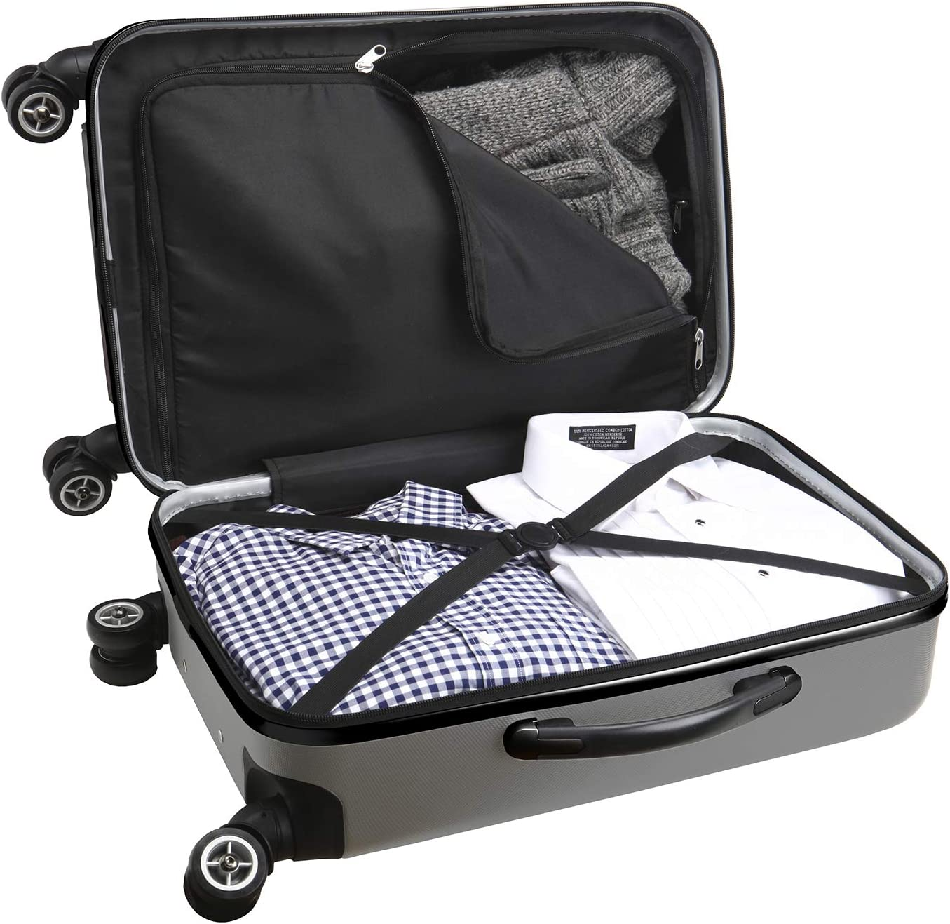 Denco X-Games United States Army Carry-On Hardcase Luggage Spinner
