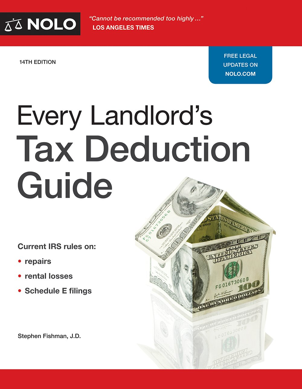 Every Landlord\'s Tax Deduction Guide: Stephen Fishman J.D. ...