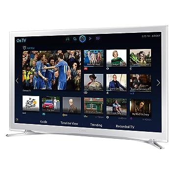 Samsung Ue32h4510ak 32zoll Smart Tv Wlan Weiß Led Fernseher 813