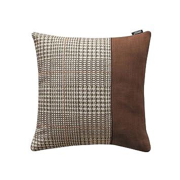 Amazon.com: Almohada cuadrada decorativa de algodón y ...