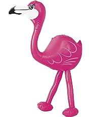 Suministros para luaus de verano de flamencos rosas