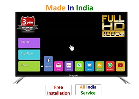 Sceptre 40 inches Full HD- Full Smart Android LED TV: Amazon in