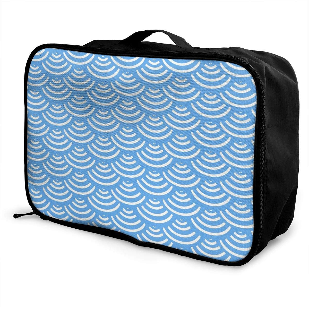 Travel Duffle Bag Weekend Bags In Trolley Handle Japanese Happy Sushi Family Luggage Hanging Bag Waterproof Nylon Luggage Duffel Bag Hand Bag For Camping Party Vacation