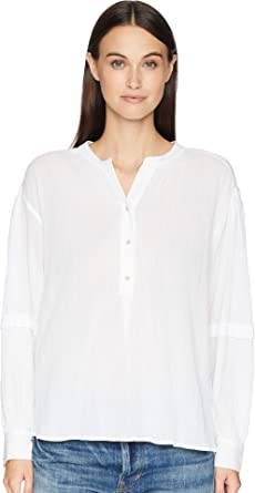 51d063edf4cc90 Amazon.com  Vince Womens Poet Blouse  Clothing