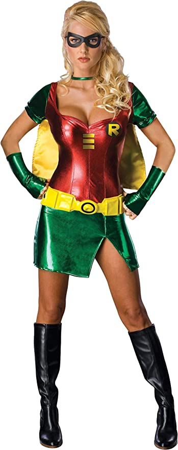 Batman - Disfraz de Robin™ para mujer (talla M): Amazon.es ...