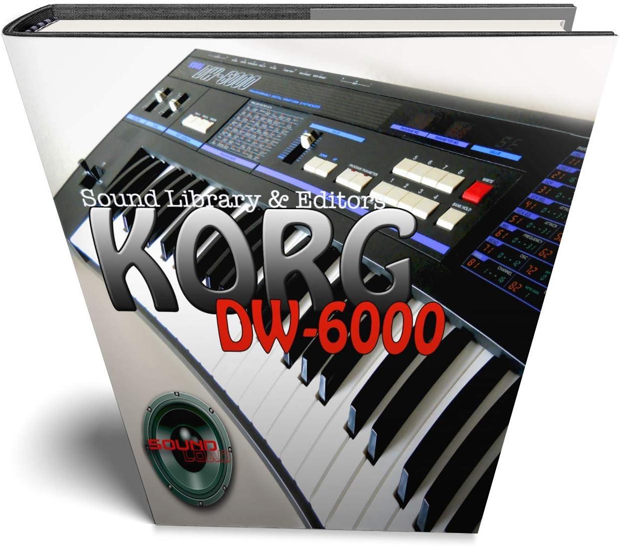 Korg dw-6000 Editor de sonido original y biblioteca en CD ...