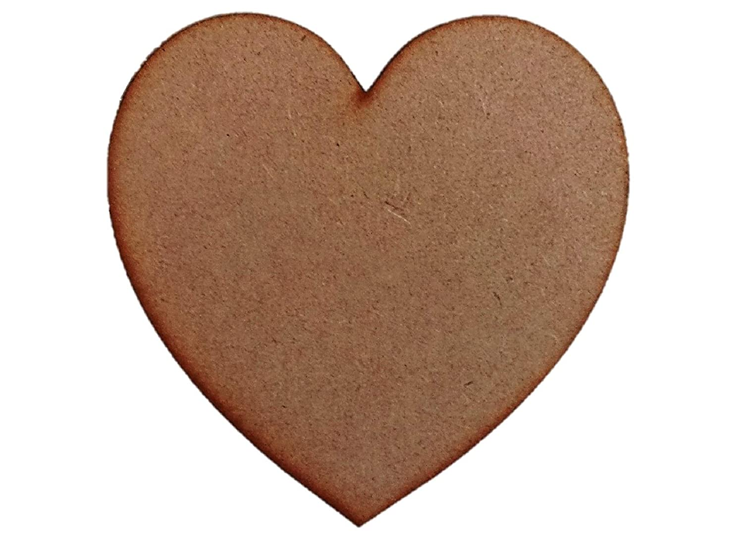 30cm Heart Plaques x5 Wooden Laser Cut mdf Craft Blanks Shapes