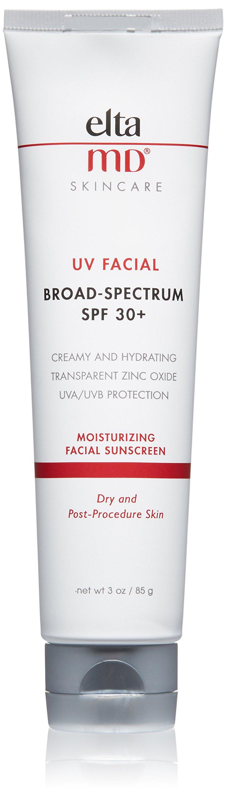 EltaMD UV Facial Sunscreen Broad-Spectrum SPF 30+, 3.0 oz