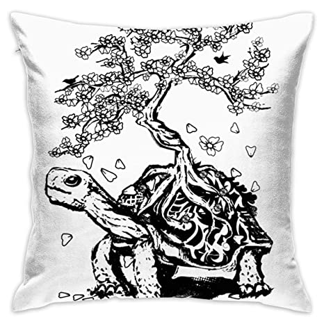 Amazon.com: ZKIRESD MarthaStill Turtle Bonsai - Funda de ...