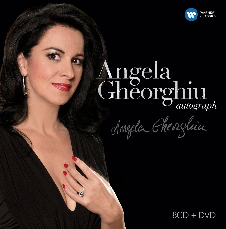 Angela Gheorghiu Autograph