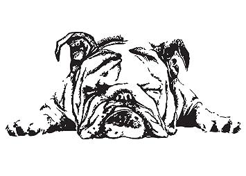 Amazon.com: Figura de almohada, diseño de perro bulldog ...