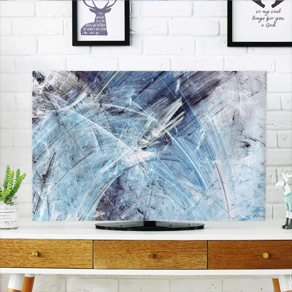白い背景であなたのテレビのコーヒーを保護 テレビの保護に 幅19 x 高さ30 インチ/テレビ32インチ W35 x H55 INCH/TV 60