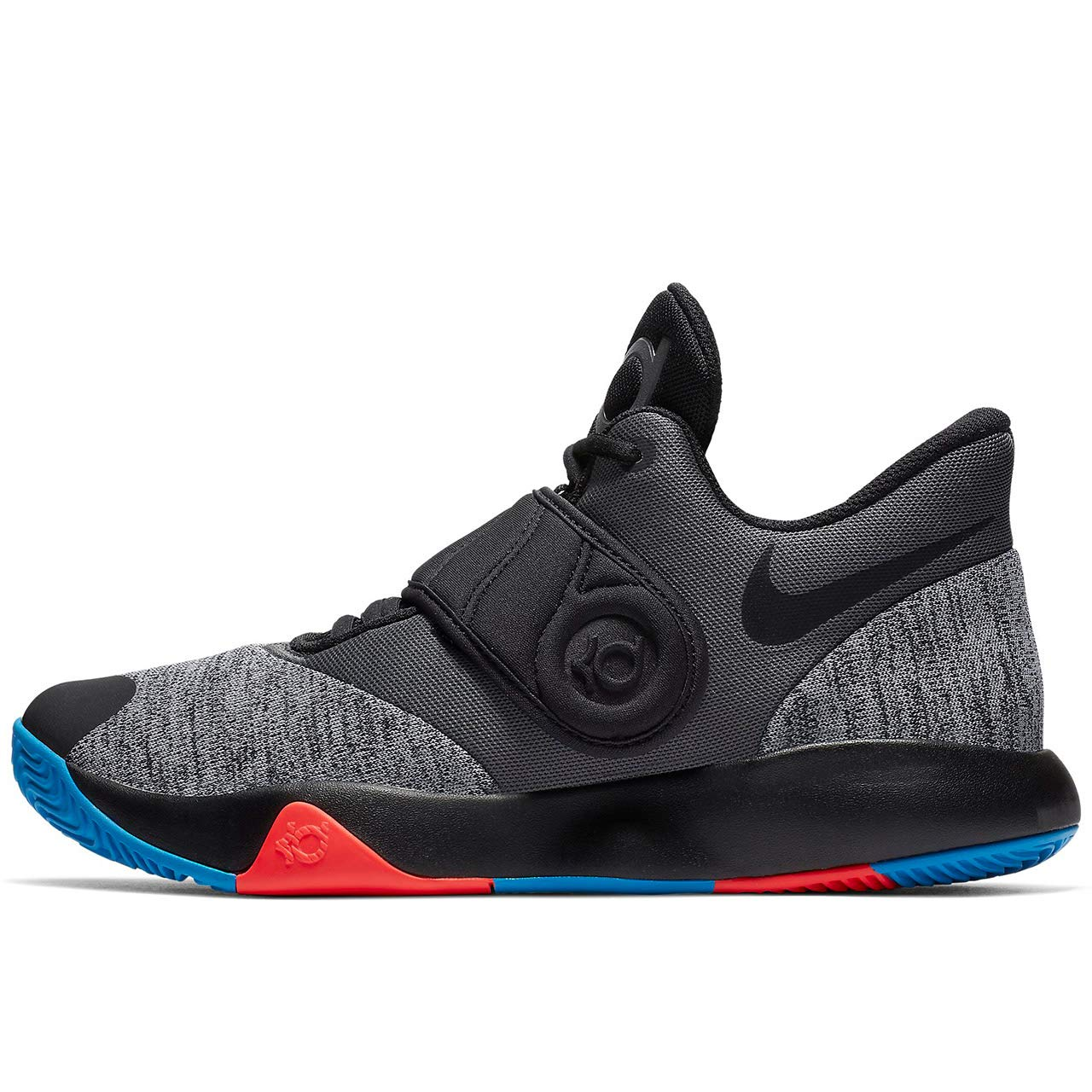 14b754fc39b Amazon.com  Nike Men s KD Trey 5 VI Basketball Shoe Black Chrome Photo  Blue Bright Crimson Size 11 M US  Sports   Outdoors