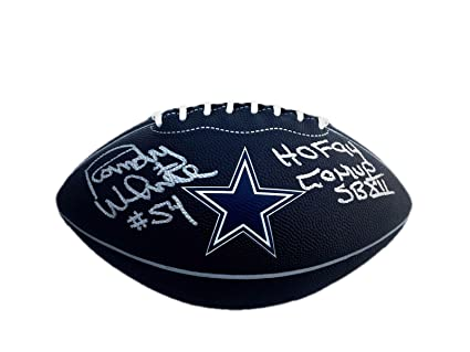Image Unavailable. Image not available for. Color  Randy White Signed  Football - Hof 94   Sb Mvp Logo - JSA Certified - Autographed 997ac92bd