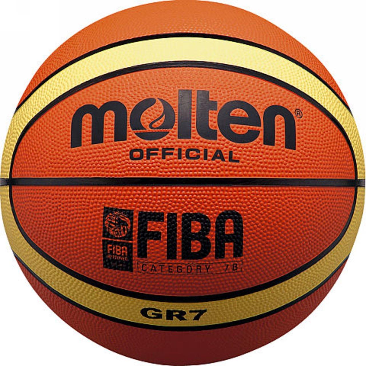 Molten BGRシリーズバスケットボール B014YW4T4W Size 7 -Mens