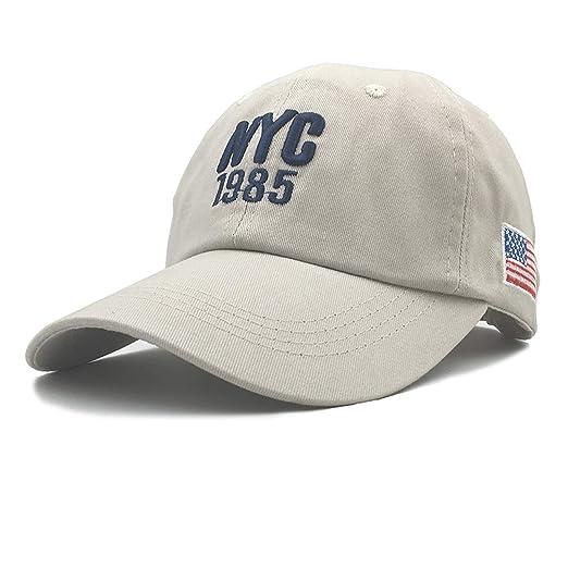2019 Cotton NYC 1985 Baseball Cap Gorra Trucker Golf Hats Men Women Caps Men USA Hats