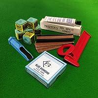 Billiards Boutique 6pièces Blue Diamond Snooker ou Billard Tips kit d'accessoires