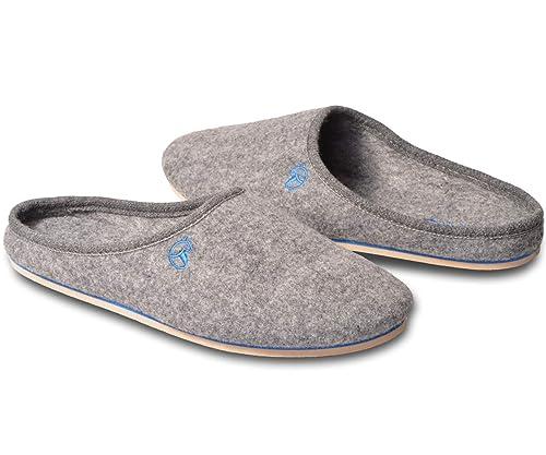 divers design commercialisable luxe ESTRO Feutre Homme Chausson Pantoufle Chaussons Pantoufles ...