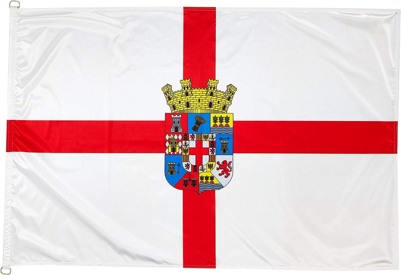 BPH Bandera de Almeria, 150x100x3 cm: Amazon.es: Jardín