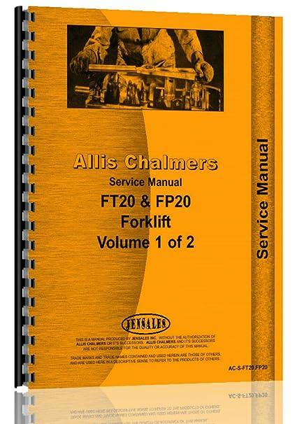 amazon com allis chalmers f 40 forklift service manual allis rh amazon com Allis Chalmers Forklift Literature Allis Chalmers Forklift Literature