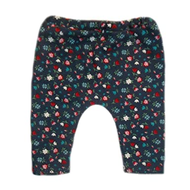 2e4fa87a6a1cd Jacqui's Baby Girls' Navy Blue Leggings With Tiny Tulips - Pink - 3 ...