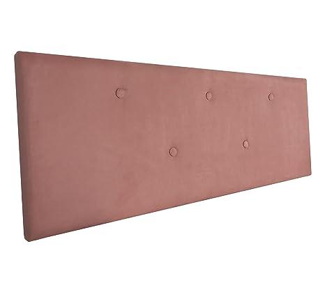 SERMAHOME- Cabecero Alicante tapizado Tela Color Salmón. Medidas: 160 x 55 x 7 cm (Camas 135, 150 y 160 cm).: Amazon.es: Hogar