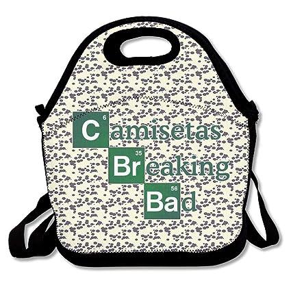 BjlkMLMLM Camisetas-brba2 Lunch Bag Large Reusable Lunch Tote Bags Women Teens Girls Kids Baby