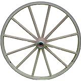 66ef3d89207c Amazon.com: Wood Wagon Wheel - Other - Tea Cart Wheel Axle. Tea Cart ...
