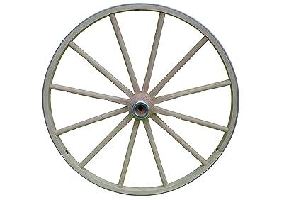 Amazon com : AMISH WARES Functional - Wood Wagon Wheel