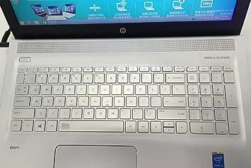 Claro TPU protector de teclado para 15,6 HP Envy 15 15-AB *