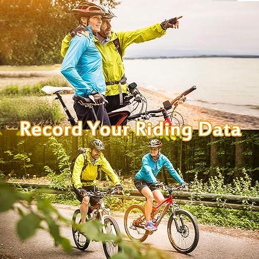SZFREE - Odómetro para bicicleta con pantalla LCD, tacómetro ...