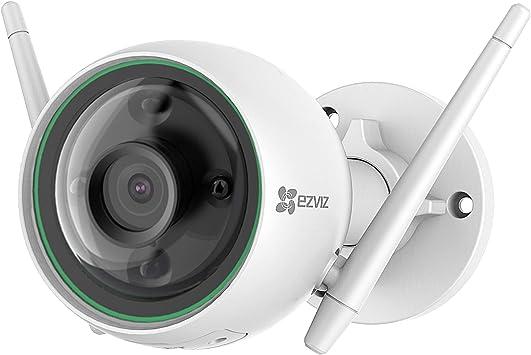 EZVIZ C3N Cámara IP WiFi de vigilancia y Seguridad para Exterior. FHD 1080P. IP67 Impermeable. Visión Nocturna a Color. Compatible con Alexa y Google Home. H.265: Amazon.es: Electrónica