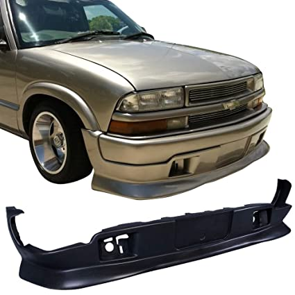 s10 front bumper weight
