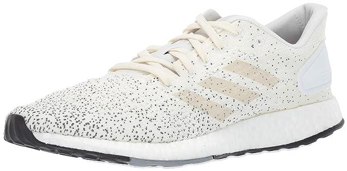 adidas Women's Pureboost DPR Running Shoes, raw White/Grey, 7.5 M US
