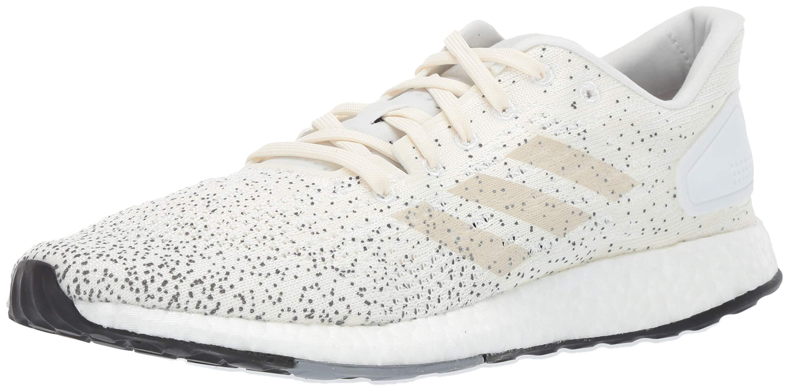 adidas Women's Pureboost DPR Running Shoes, raw White/Grey, 5 M US