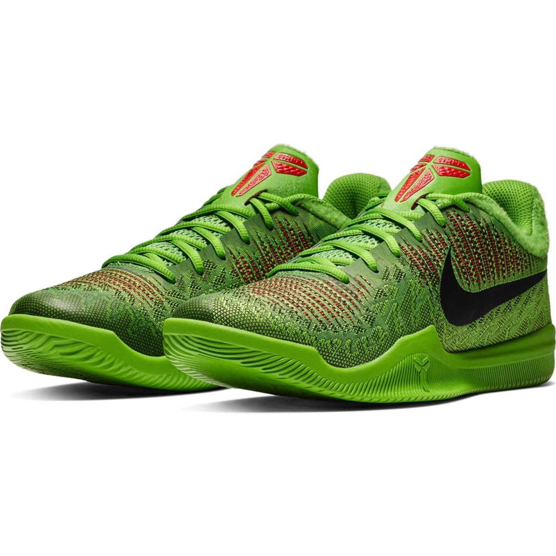 MultiCouleure (Electric vert noir vert Apple Volt 300) Nike Mamba Rage, Chaussures de Basketball Homme 49.5 EU