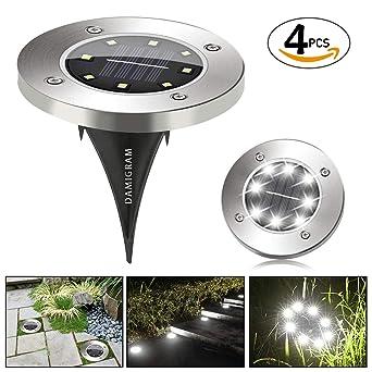 Solar Power Led Pfad Licht Im Freien Garten Rasen Landschaft Edelstahl Spot Hof Lampe Kaufen Sie Immer Gut Außenbeleuchtung