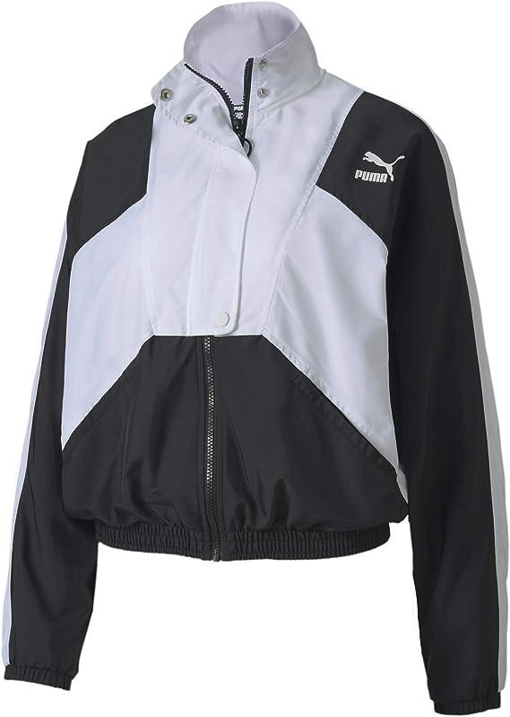 PUMA Tailored for Sport Damen Gewebte Trainingsjacke: Amazon