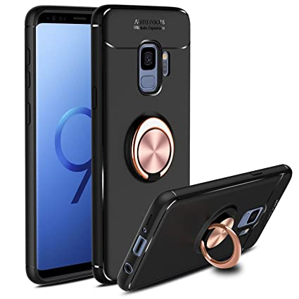 Amazon.com: venoro Galaxy S9 Funda, giratorio de 360 grados ...
