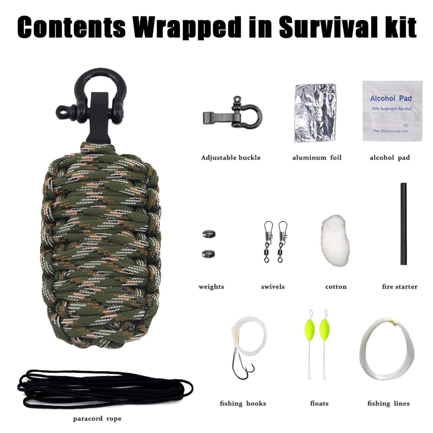 Dangerous Rescue Pack Outdoor Wilderness Outdoor First Aid Kit Emergency Outdoor Survival Kit Toolbox