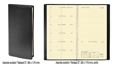 prix compétitif différemment mode de premier ordre Quo Vadis Agenda ITALSEPT-S 8,8 x 17 cm - 1 semaine sur 2 pages 653007Q -  Août 2019 à Août 2020