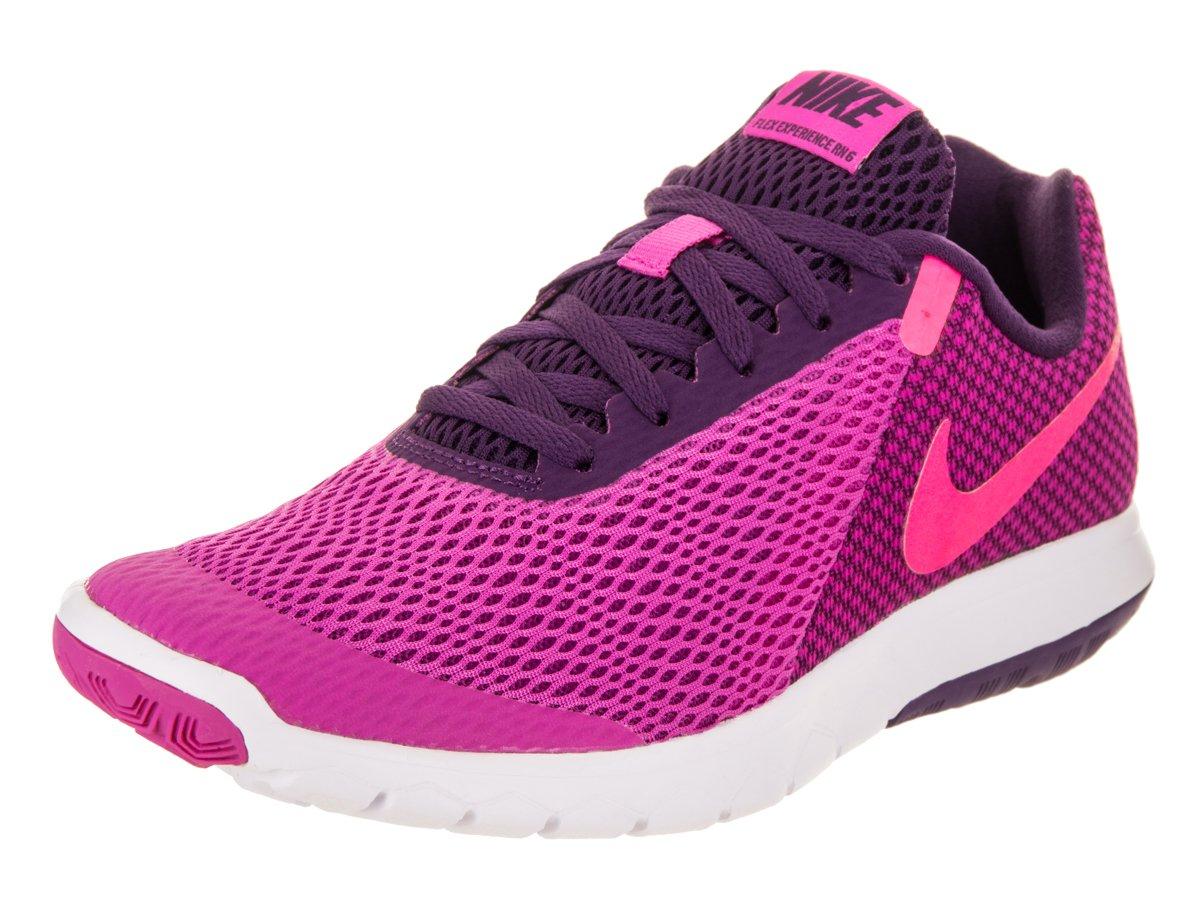 NIKE Women's Flex Experience RN 6 Running Shoe B06X6H6LKV 10 B(M) US|Fire/Pink/Hyper/Pink